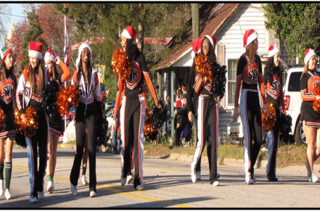 Christmas cheerleader fundraisers