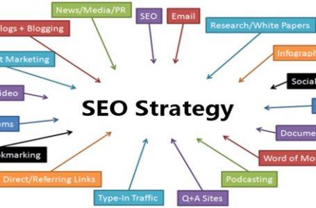 SEO strategies when creating websites