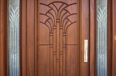 What are the different kinds of modern door design?
