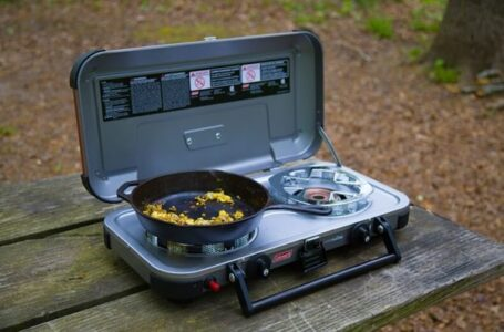 Working with the camping stove will consume time
