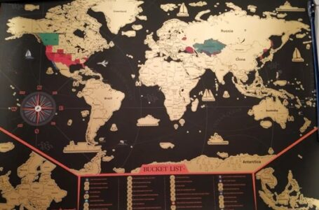 Undisclosed Pros Of A world Map Scratch Poster